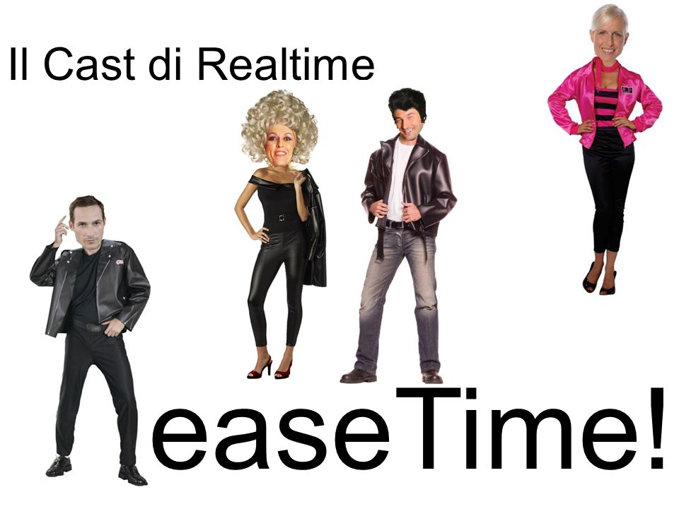 Il Cast di Realtime GreaseTime!