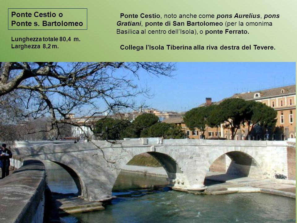 Ponte Cestio o Ponte s. Bartolomeo