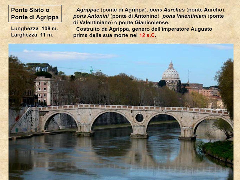 Ponte Sisto o Ponte di Agrippa