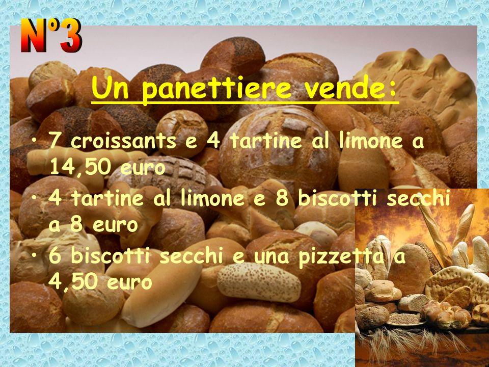 Un panettiere vende: N°3
