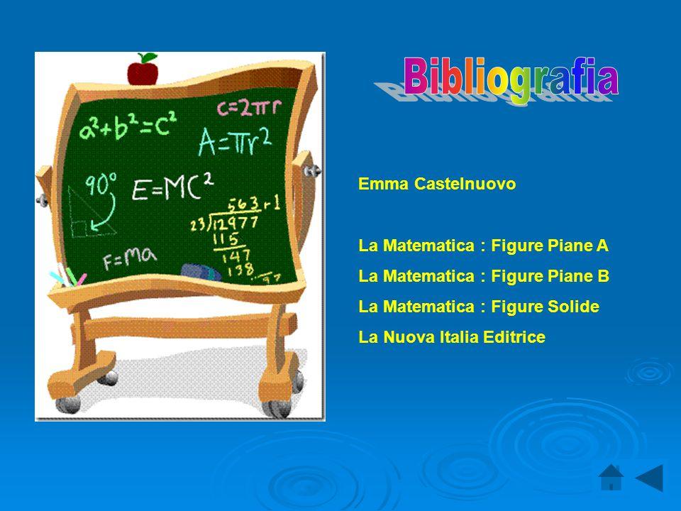 Bibliografia Emma Castelnuovo La Matematica : Figure Piane A