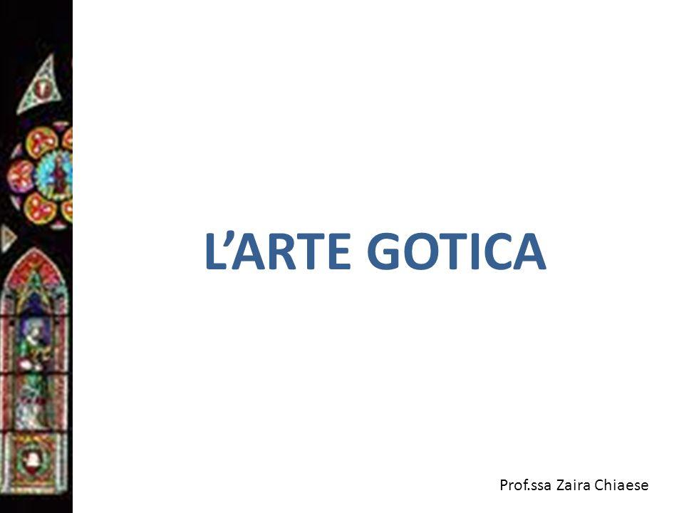 L'ARTE GOTICA