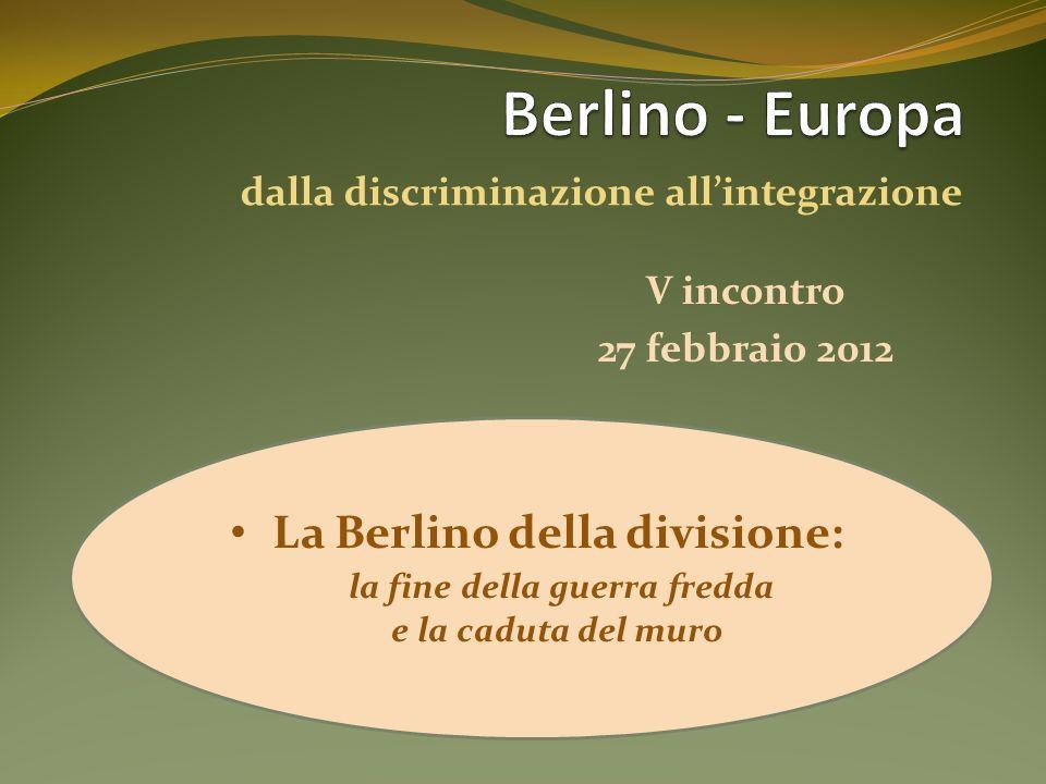 dalla discriminazione all'integrazione