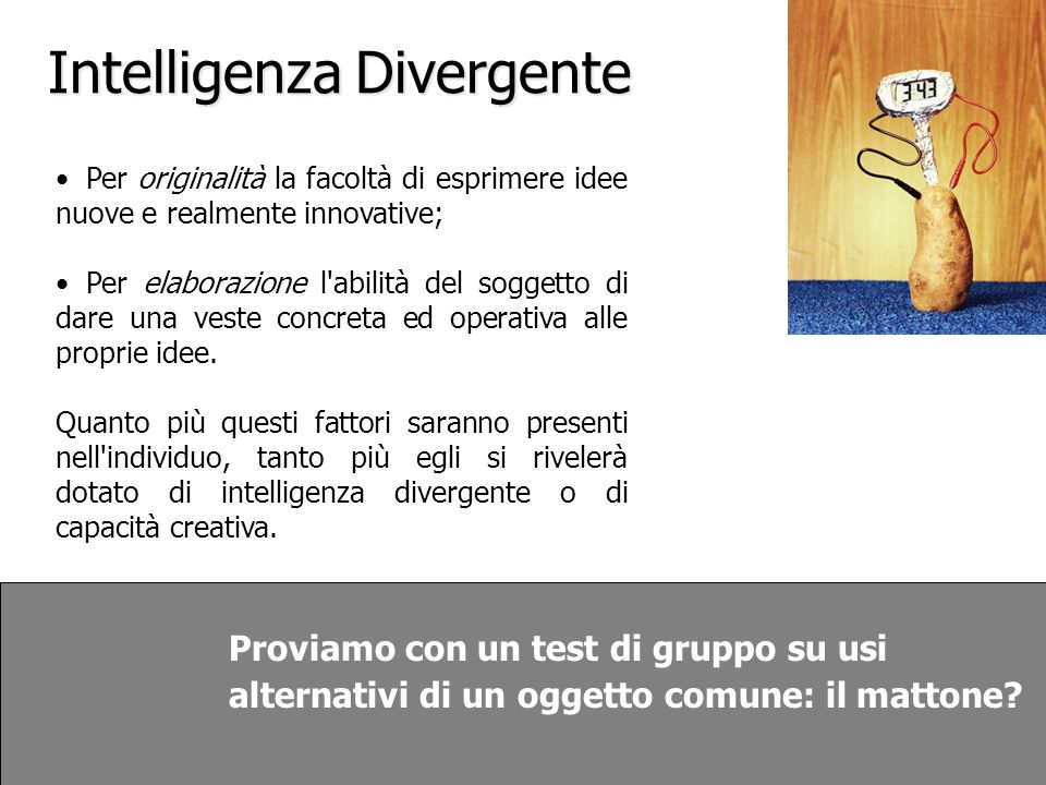 Intelligenza Divergente