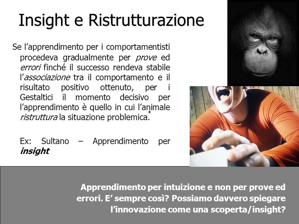 Insight e Ristrutturazione