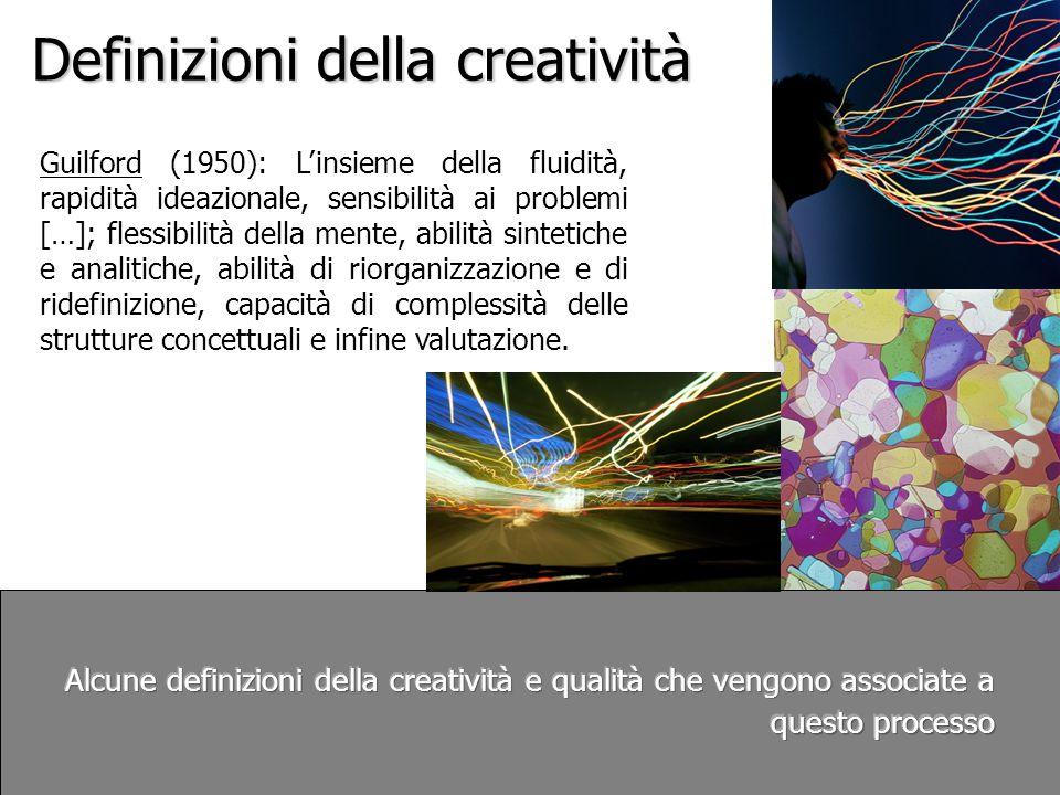 Definizioni della creatività