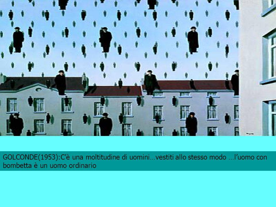GOLCONDE(1953):C'è una moltitudine di uomini…vestiti allo stesso modo …l'uomo con bombetta è un uomo ordinario