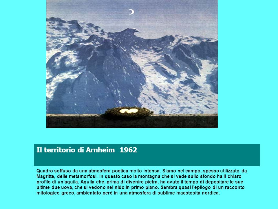 Il territorio di Arnheim 1962