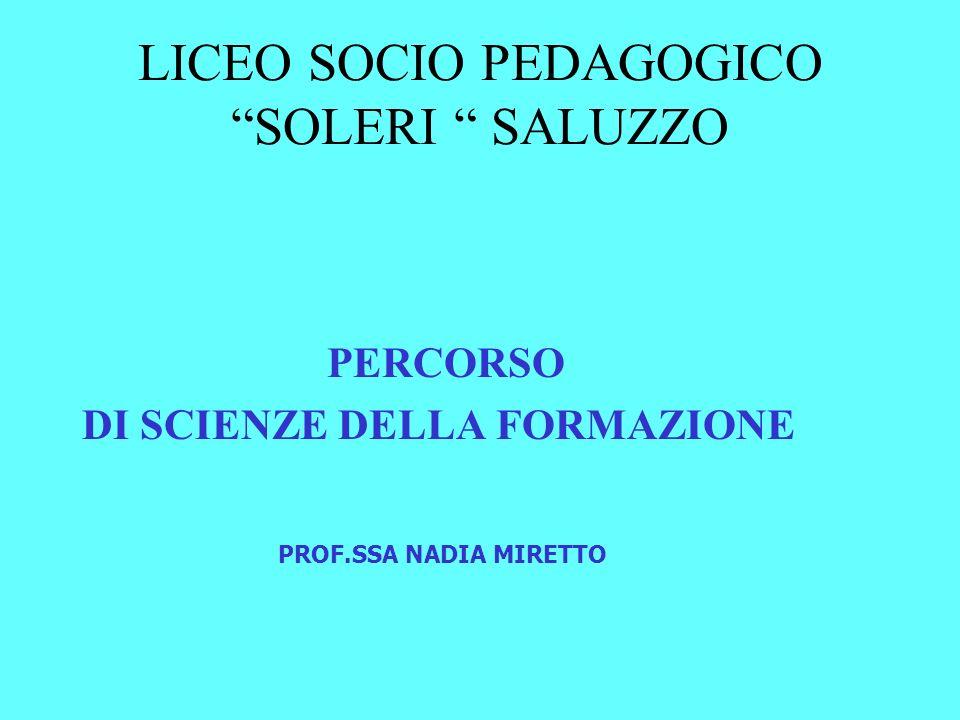 LICEO SOCIO PEDAGOGICO SOLERI SALUZZO