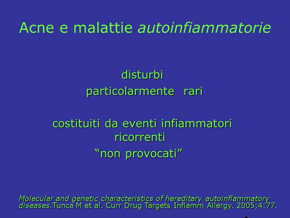 Acne e malattie autoinfiammatorie