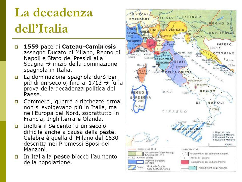 La decadenza dell'Italia