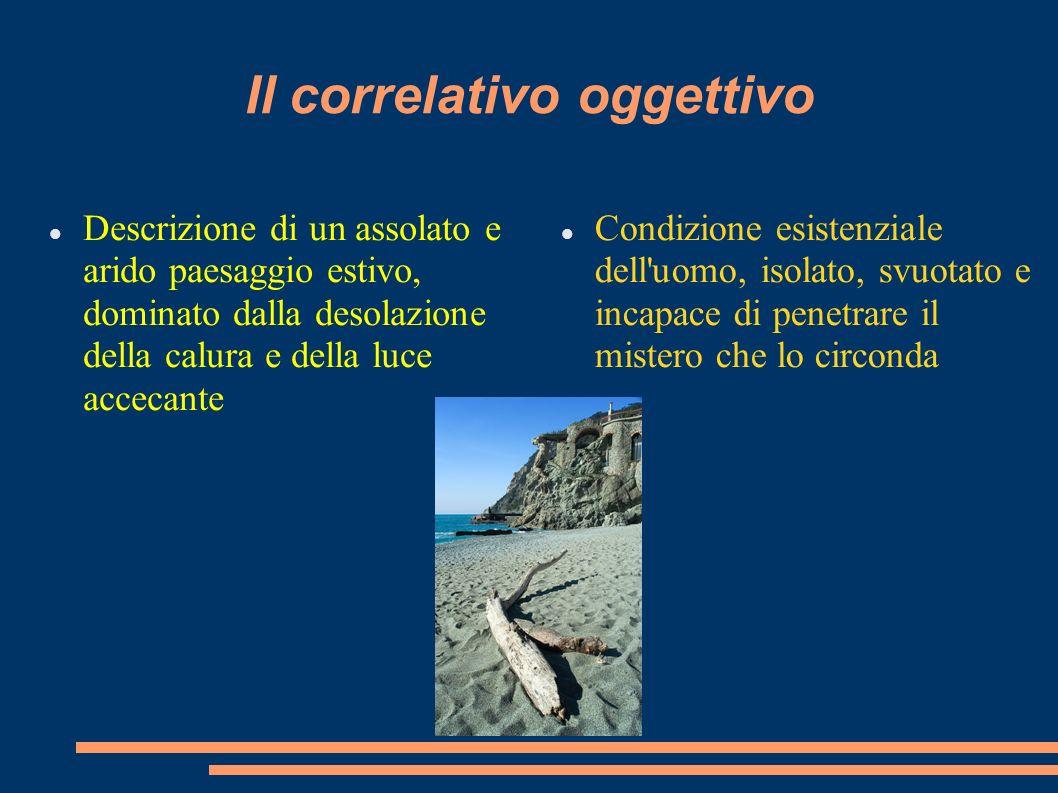Il correlativo oggettivo