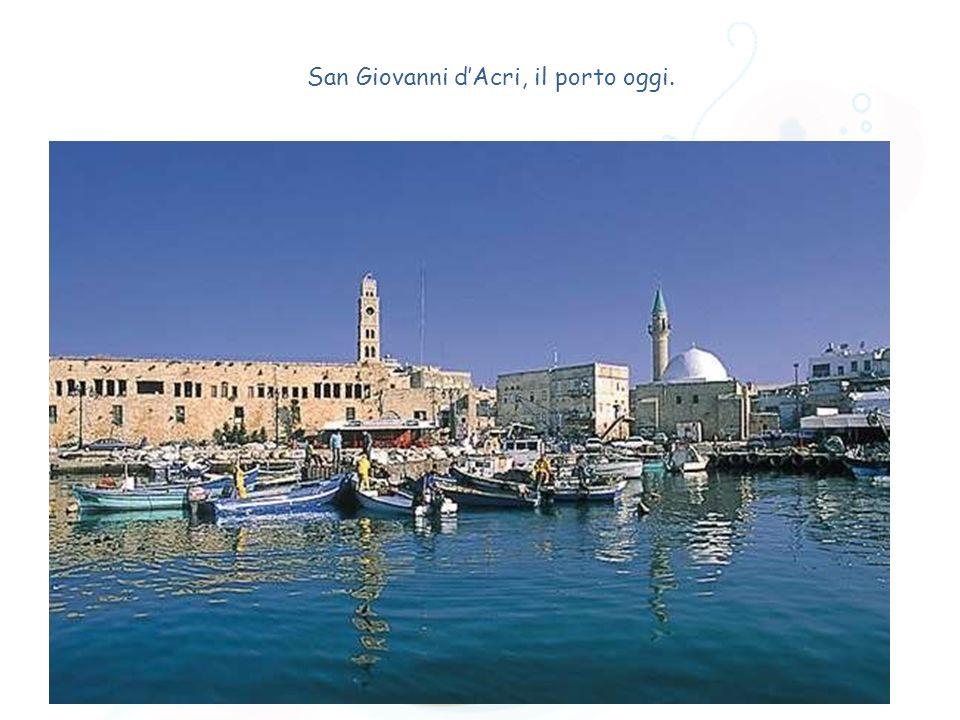 San Giovanni d'Acri, il porto oggi.