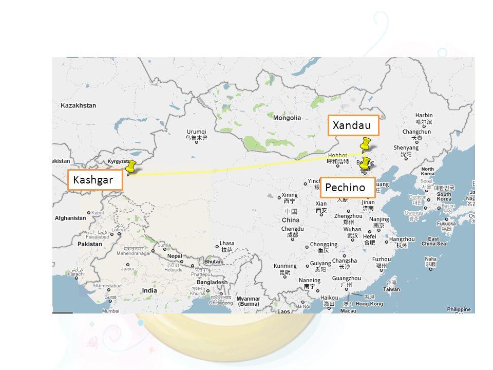 Xandau Kashgar Pechino