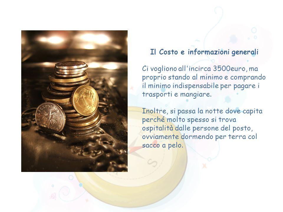 Il Costo e informazioni generali