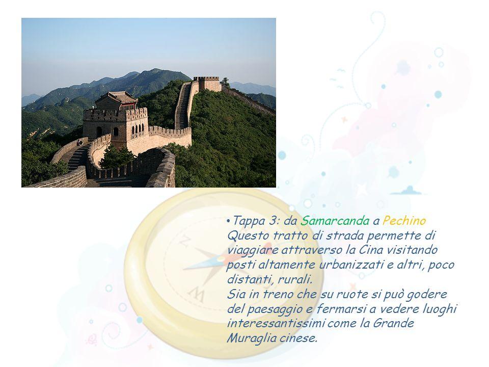 Tappa 3: da Samarcanda a Pechino