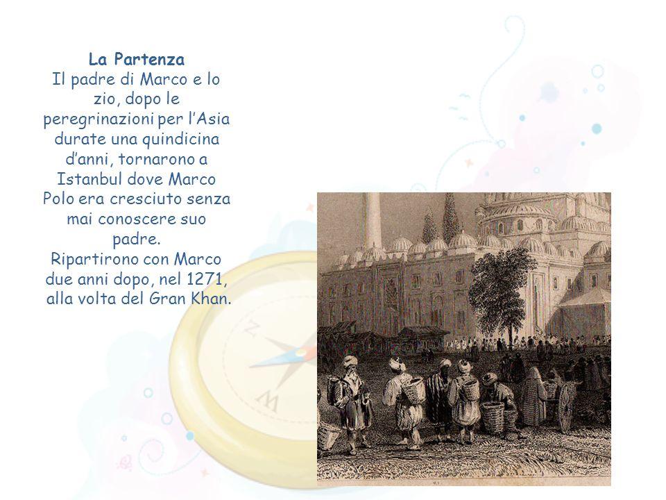 Ripartirono con Marco due anni dopo, nel 1271,