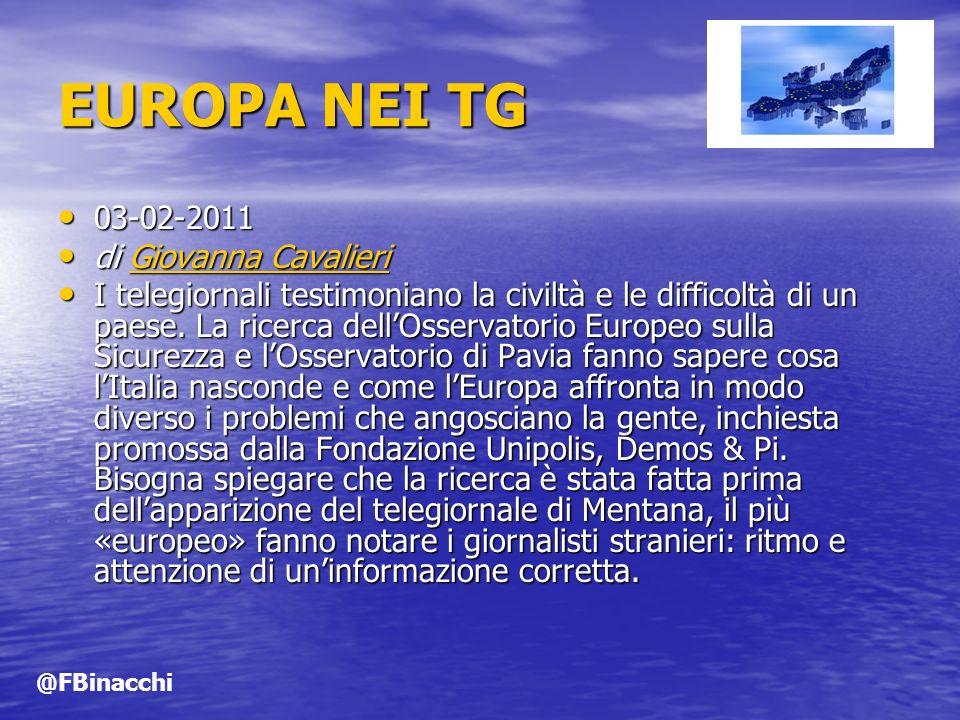 EUROPA NEI TG 03-02-2011 di Giovanna Cavalieri