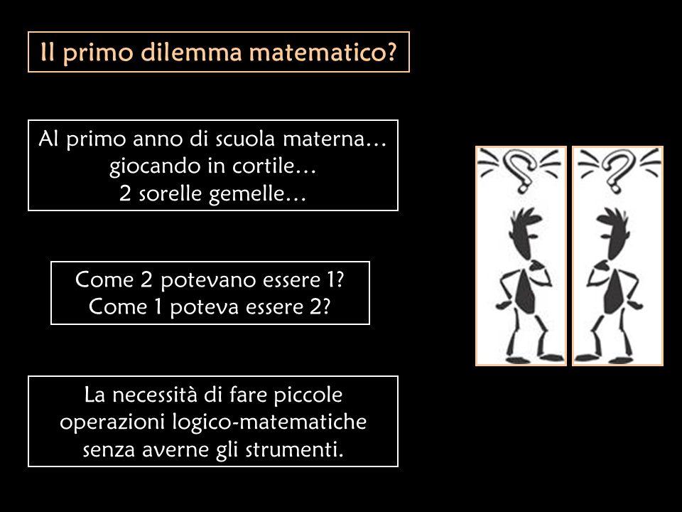 Il primo dilemma matematico