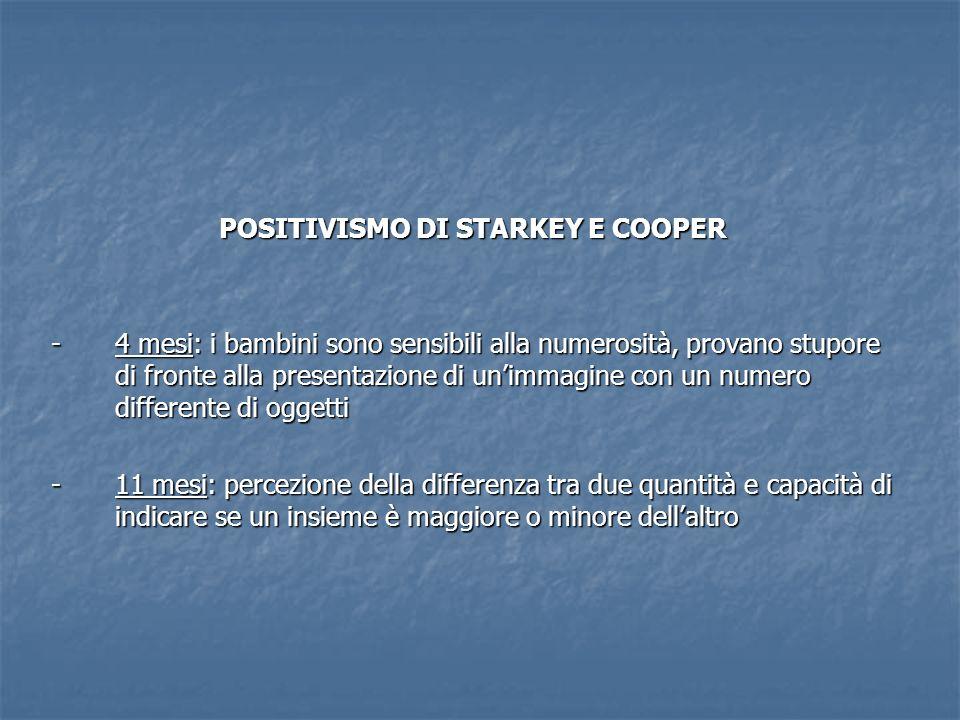 POSITIVISMO DI STARKEY E COOPER