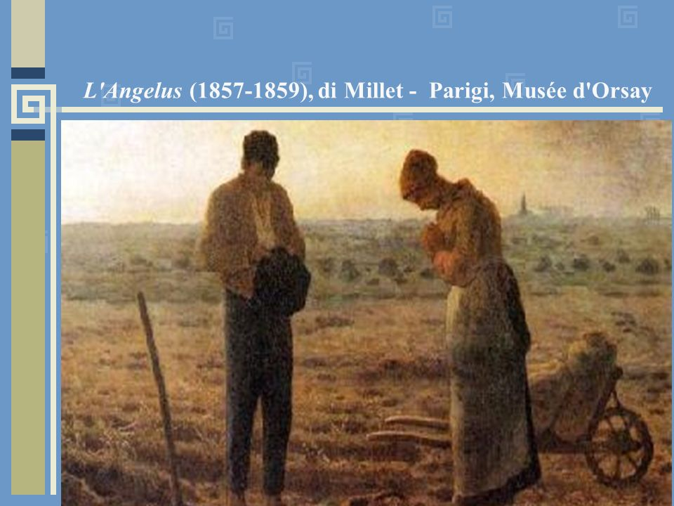 L Angelus (1857-1859), di Millet - Parigi, Musée d Orsay