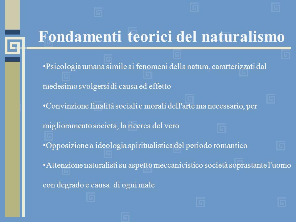 Fondamenti teorici del naturalismo