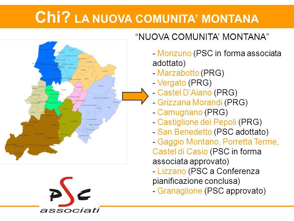 Chi LA NUOVA COMUNITA' MONTANA