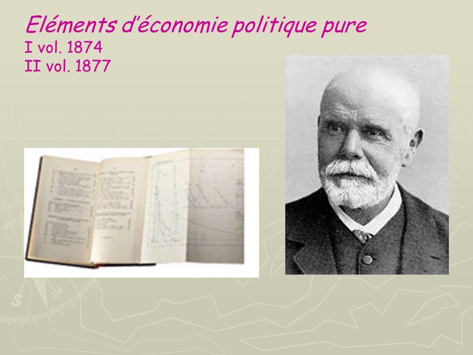 Eléments d'économie politique pure