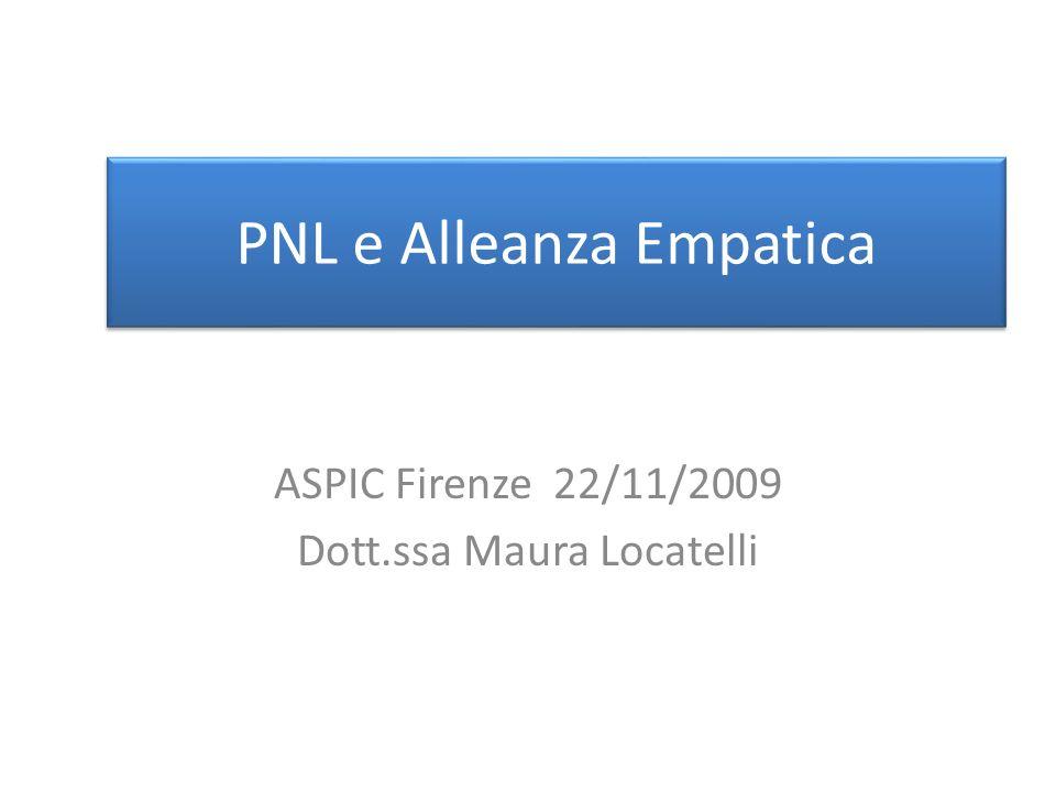 PNL e Alleanza Empatica