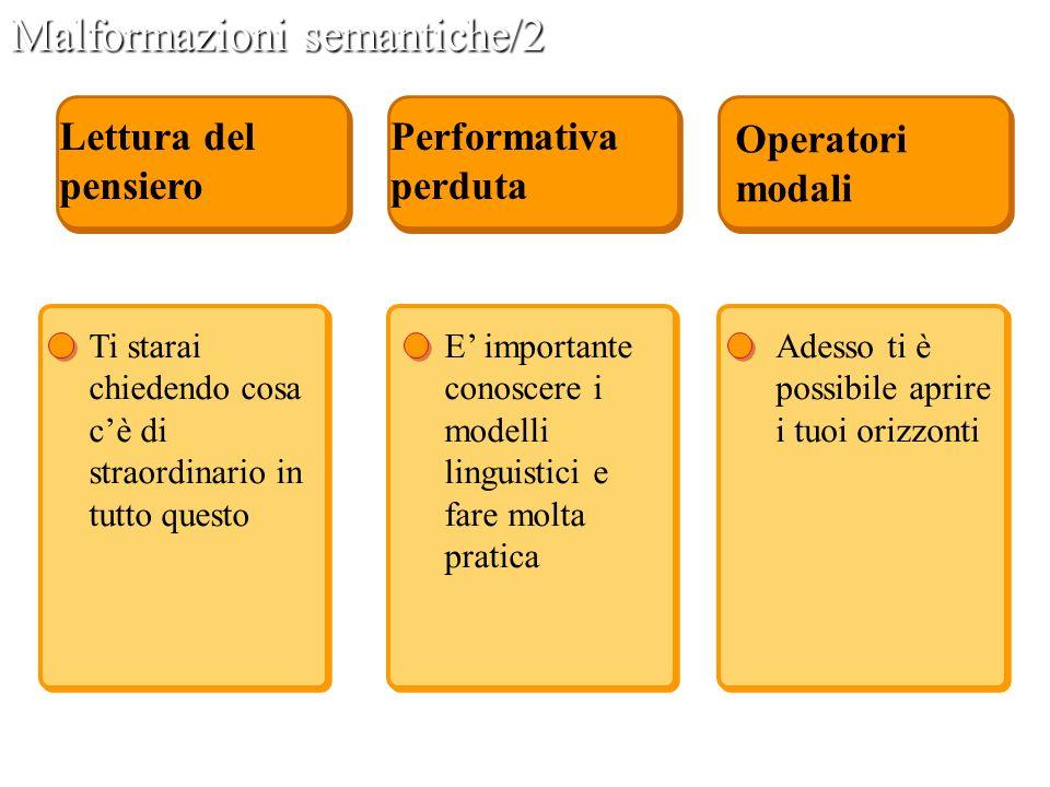 Malformazioni semantiche/2