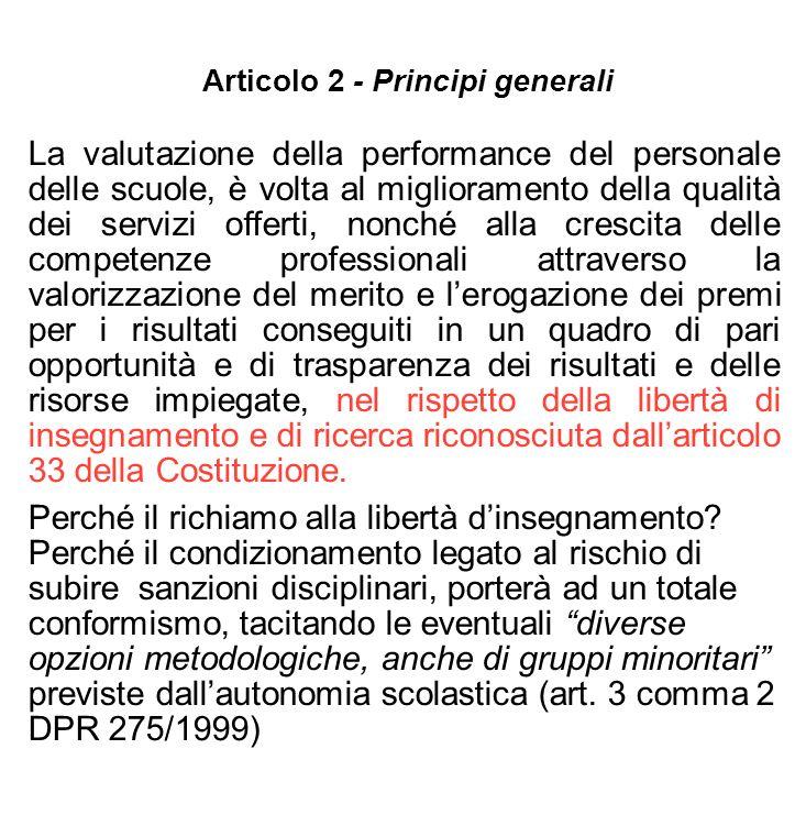 Articolo 2 - Principi generali