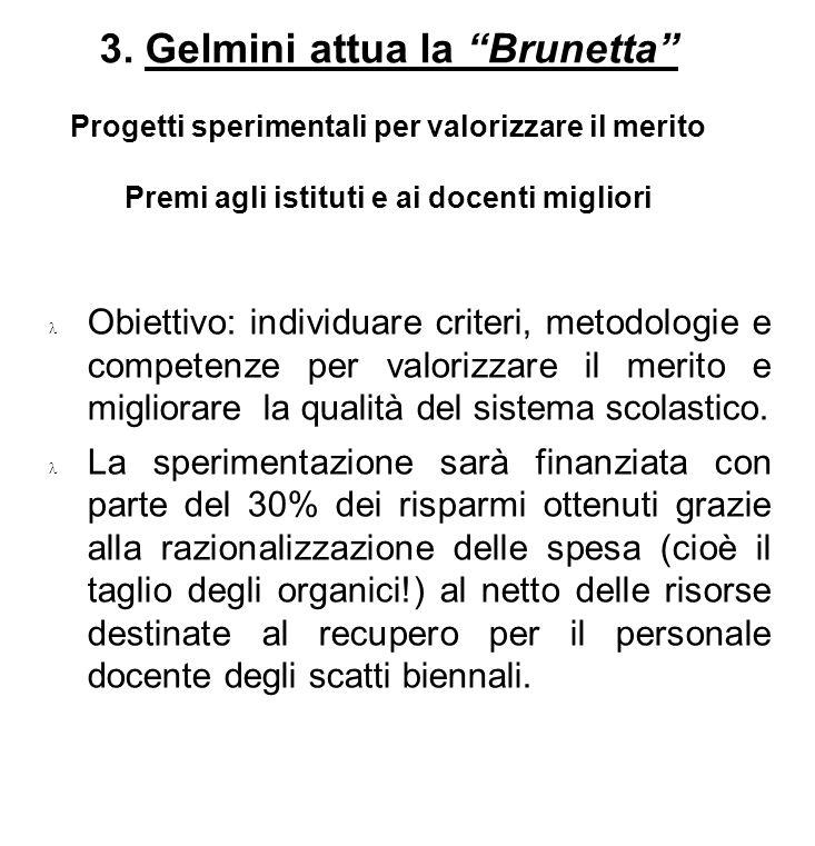 3. Gelmini attua la Brunetta