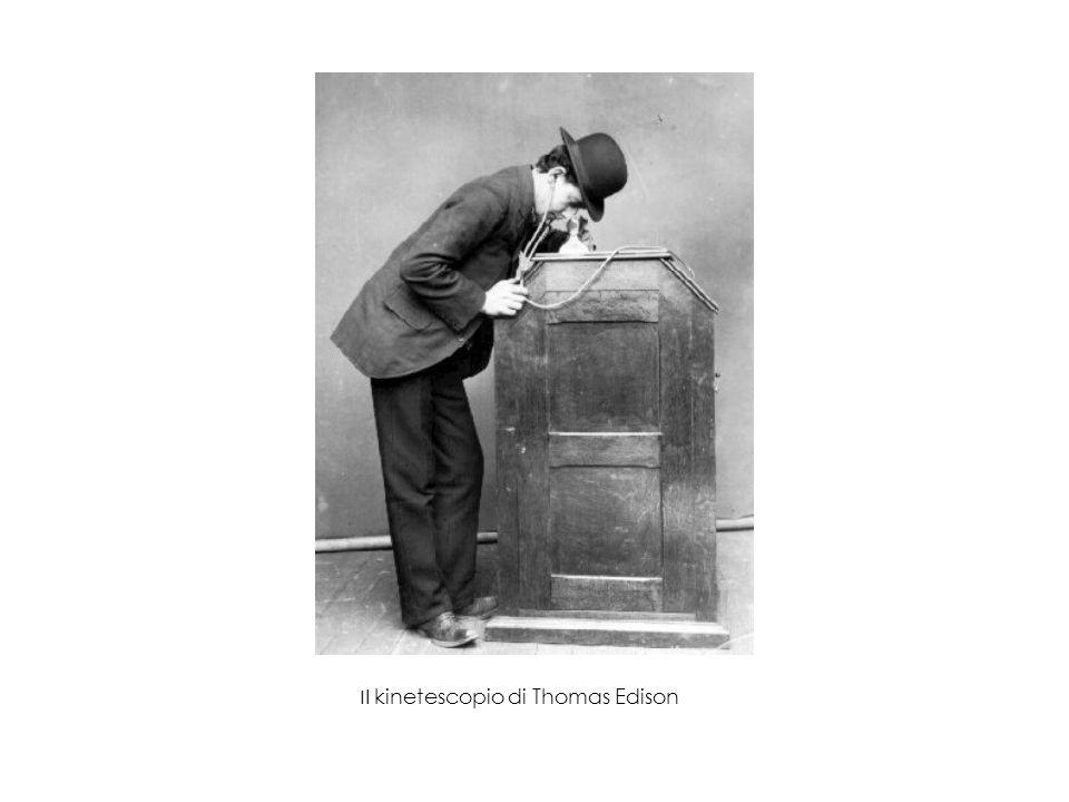 Il kinetescopio di Thomas Edison