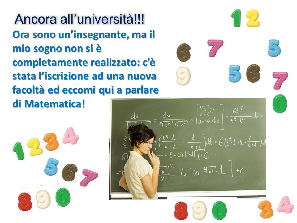 Ancora all'università!!!