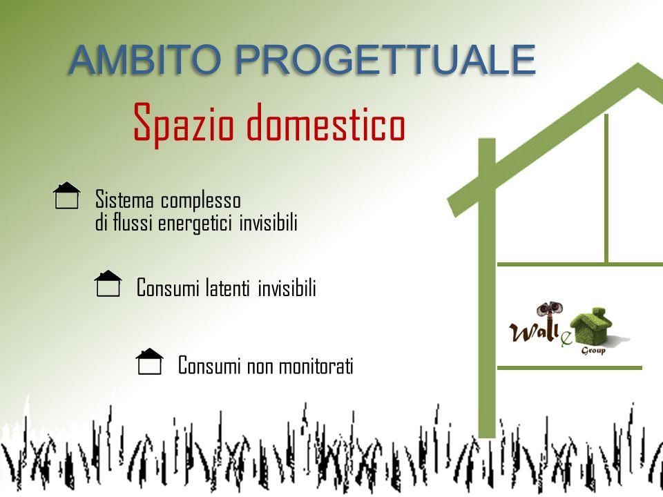 Spazio domestico AMBITO PROGETTUALE Sistema complesso