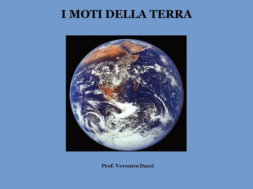 I MOTI DELLA TERRA Prof. Veronica Dazzi
