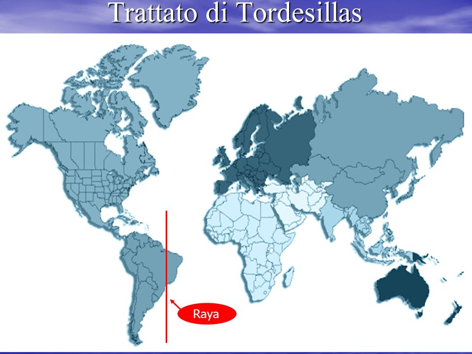 Trattato di tordesillas raya dating 6