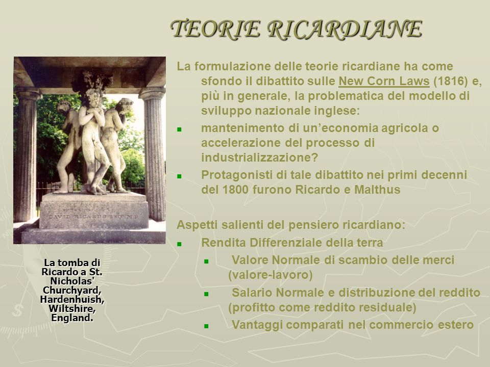TEORIE RICARDIANE