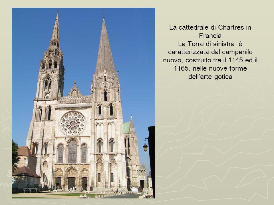 La cattedrale di Chartres in Francia
