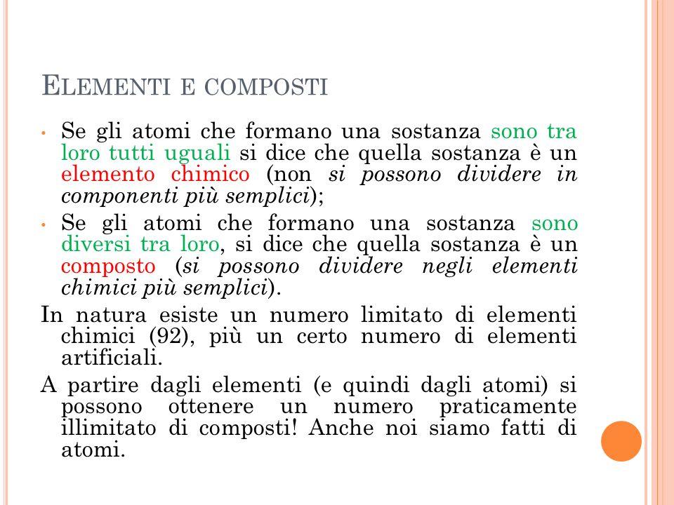 Elementi e composti