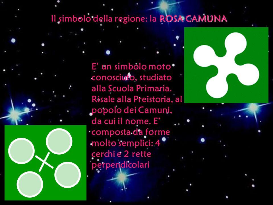 Il simbolo della regione: la ROSA CAMUNA