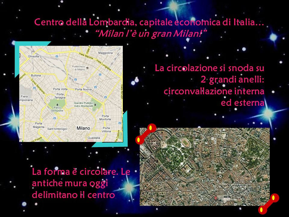 Centro della Lombardia, capitale economica di Italia… Milan l'è un gran Milan!
