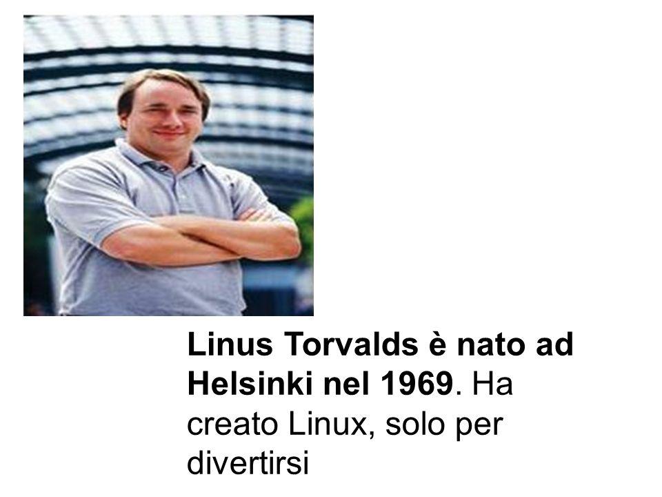 Linus Torvalds è nato ad Helsinki nel 1969