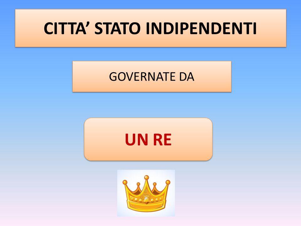 CITTA' STATO INDIPENDENTI
