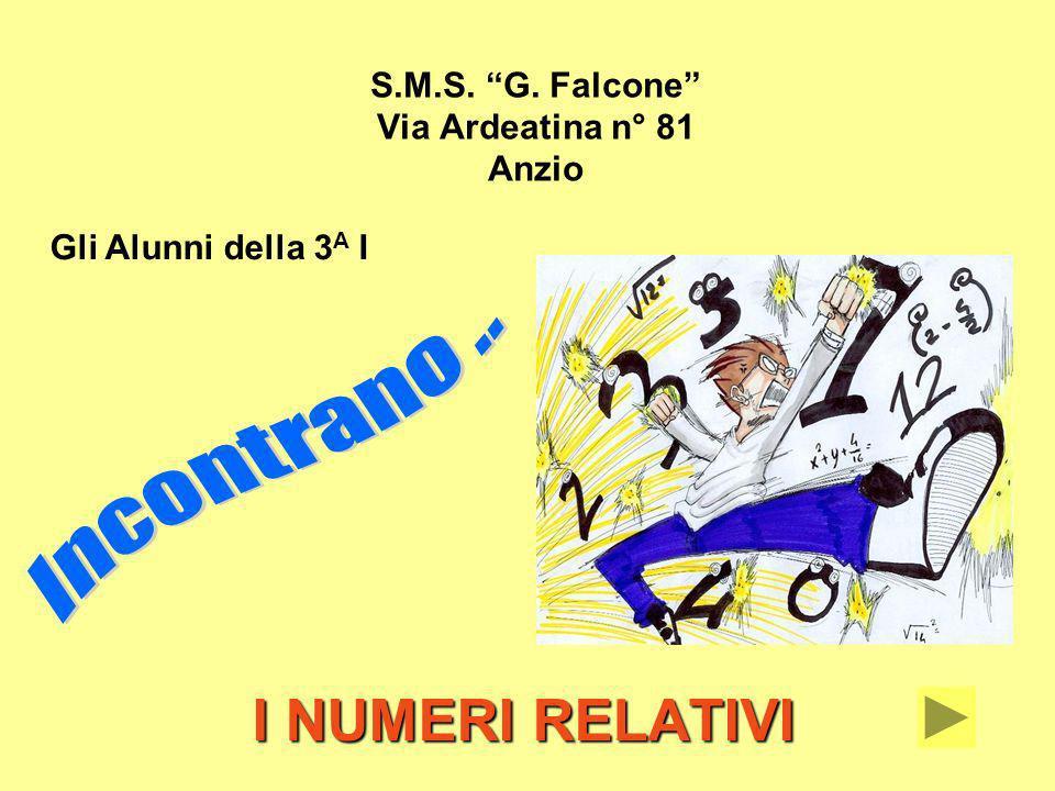 S.M.S. G. Falcone Via Ardeatina n° 81 Anzio