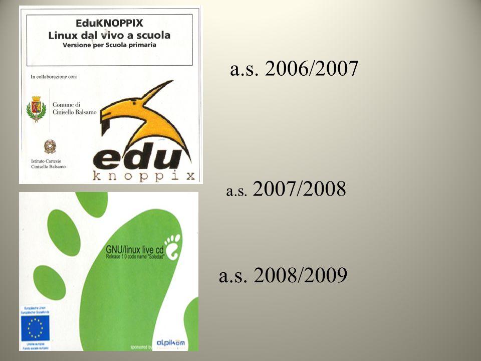 a.s. 2006/2007 a.s. 2007/2008 a.s. 2008/2009