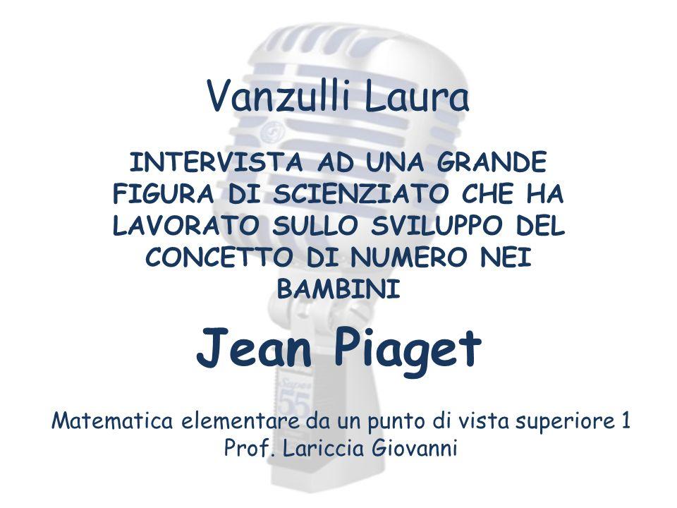Jean Piaget Vanzulli Laura
