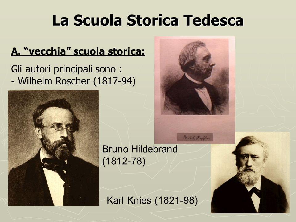 La Scuola Storica Tedesca