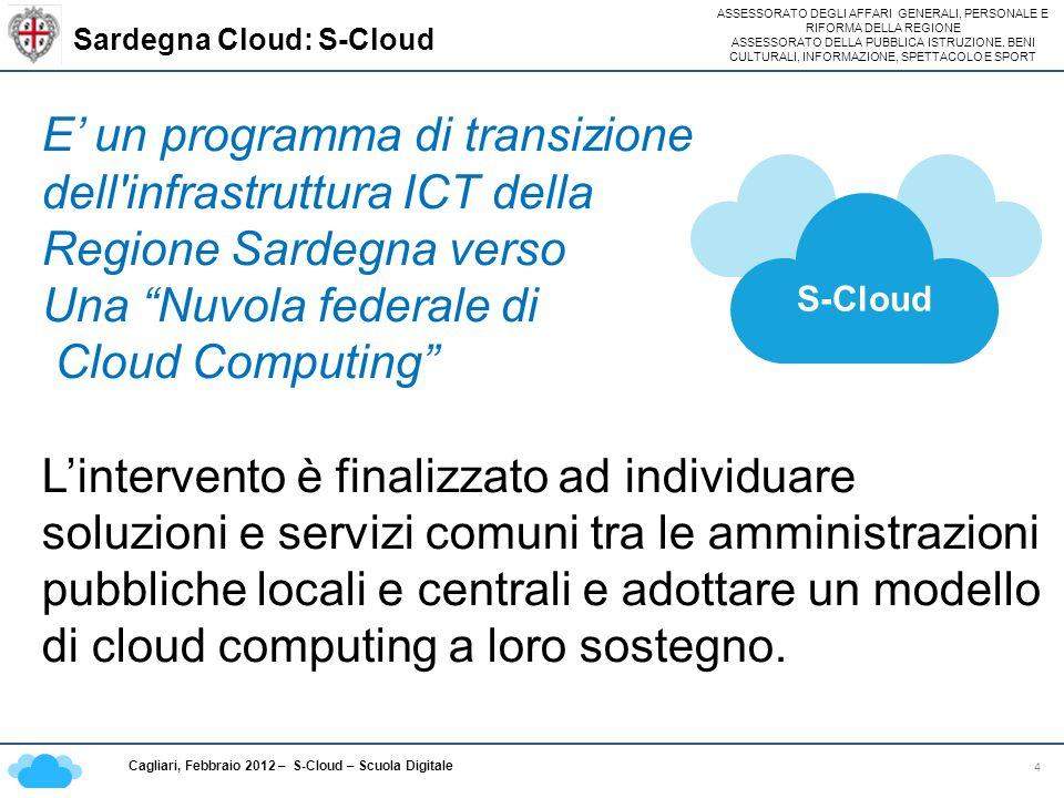 Sardegna Cloud: S-Cloud