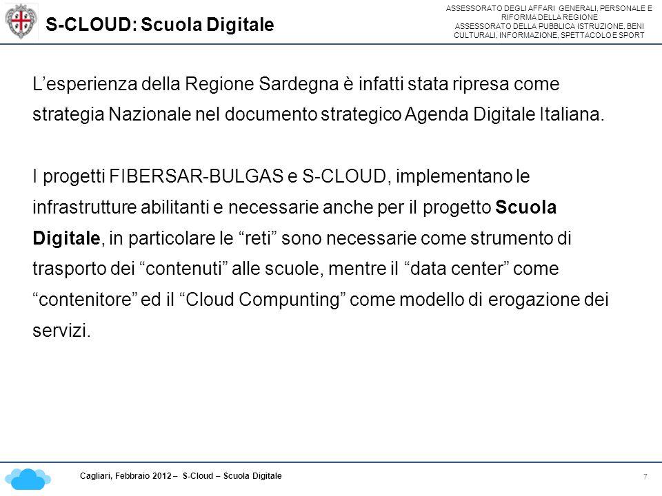 S-CLOUD: Scuola Digitale